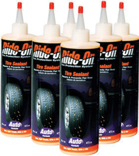 Ride-On Tire Sealant for Cars and SUVs - 6 Bottles